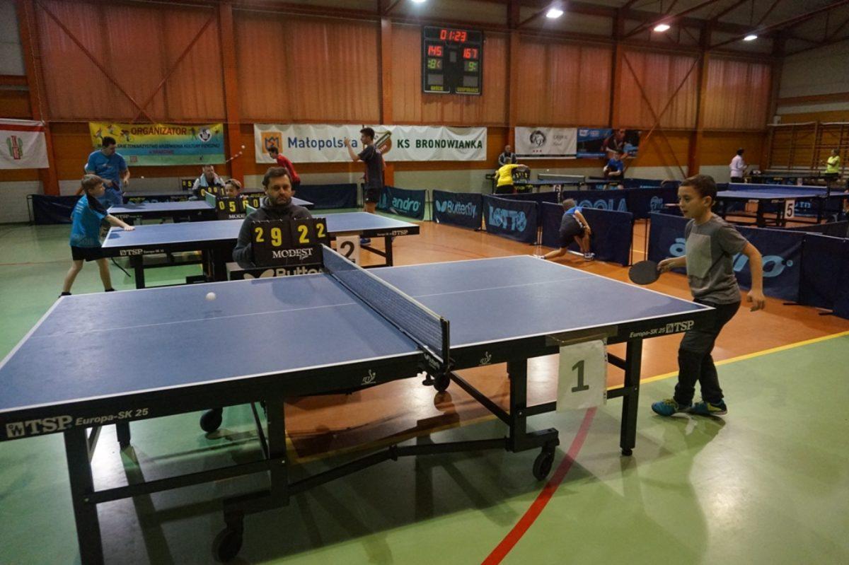 """Turniej Grand Prix w tenisie stołowym """"ZIMA"""" 26.11.2017 r."""