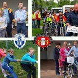 """XVII Małopolski Gwiaździsty Zlot """"Rowerem po zdrowie"""" – Niepołomice 19.05.2018 r."""