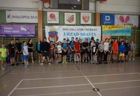 """XVII Mistrzostwa Małopolskiego TKKF w badmintonie """"o Złotą Rakietę"""" 2018"""
