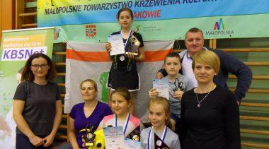 Wyniki XXVII Otwartych Mistrzostw  Małopolskiego TKKF w tenisie stołowym