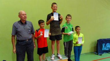 """Finał Wojewódzki """"Grand Prix"""" Małopolskiego TKKF w tenisie stołowym 1 XII 2019"""