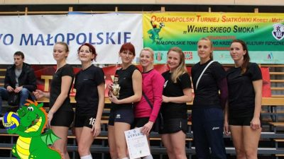 """XVII Ogólnopolski Turniej Siatkówki Kobiet i Mężczyzn """"Wawelskiego Smoka"""""""