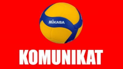 Pilny komunikat Małopolska Liga TKKF siatkówki kobiet i mężczyzn 2020/2021